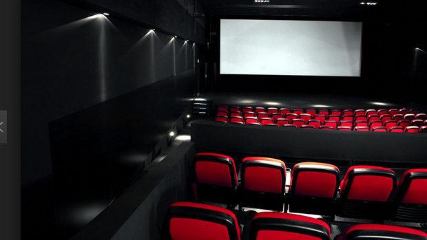 Der leere Kinosaal in Fricks Monti