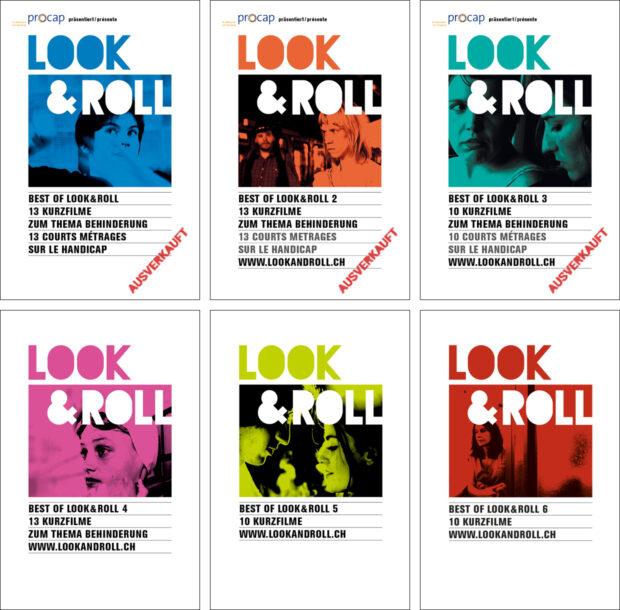 Die Cover der sechs DVD Editionen